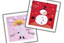 Anjo's kaarten/postcards / Op het moment alleen kerstkaarten.  Te koop in mijn eigen webshop vriendelijkekunst.nl