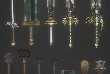 art game weapons