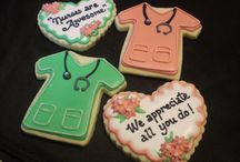 Decorated Cookies ~ Doctor - Nurse - Dentist - Optometrists