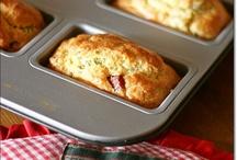 Savoury muffins, cakes and tarts
