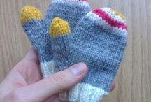 bébé (mouffles gants bonnets)