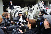 Pielgrzymka na koniach do Vaticano