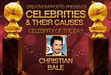 2014 Celebrities & Their Causes / In commemoration of the Golden Globe Awards, GreatNonprofits is featuring nominated Celebrities and the causes they support!