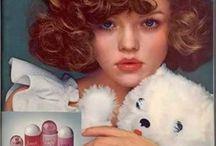 Vintage Beauty Ads / Ispirazioni dagli annunci pubblicitari vintage del settore Beauty