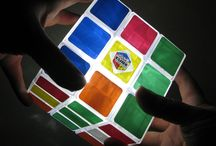 Rubik's Cube Light Fans