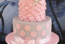 Lány Baba torták .