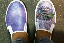 Italian Handmade Custom Sneakers Converse-Vans-Nike-Superga / Scarpe personalizzate dipinte a mano