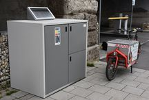 Parcel Boxes / Depotschrank, Paketkasten, Paketbox, Mikrodepot, Parcel Box