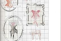 X-stitching/Lingerie&Clothes / cross-stitch scheme