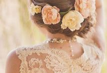 Wedding Hair and Makeup / Hair and makeup is key to a wedding.  In the end, you are only left with the memories and pictures...and we want those pictures to look awesome!  Check out some great ideas.