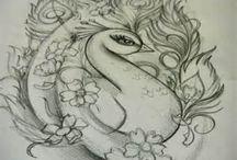 Illustration; Animals and Nature