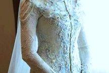 gaun pengantin model kebaya