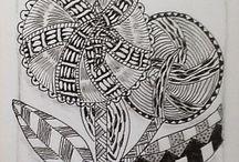 F Zentangles en Doodles