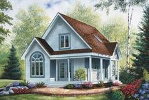 cottage style house / small and sweet / by Bonnie Piskorowski