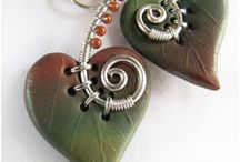 Polymer clay jewelry & buttons
