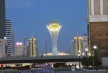 Astana, ciudad del futuro en el presente asiático. / Astaná es la capital de kazajstan, una República Asiática escindida de la antigua URSS