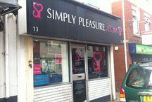 Simply Pleasure Cardiff / 13 broadway, Cardiff, CF24 1QD 0292 045 0288 Cardiff@simplypleasure.com
