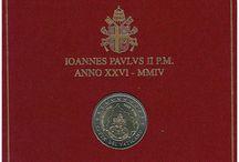 Monedas 2 euros Vaticano
