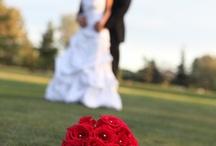 morsiuspareja ja morsiustyttöjä  -  weddings