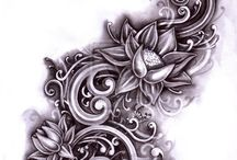 flowers tatoo