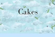 Cakes / Cakes, muffins & sweet treats of all shapes and sizes.  Some of them are healthy cakes, some of them are gluten free, some have beautiful cake decorations, all of them look delicious!