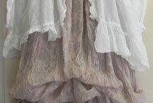 Lyered clothing / linen / loose