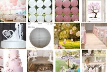 Rustic & romantic wedding / Bruilofttinten