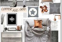 Collage Interiør