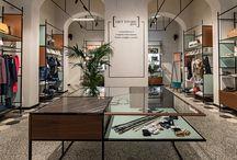Get Store Donna - Fossano CN / Un ambiente minimal caratterizzato da linee semplici e forme regolari che ricordano l'essenzialità dello stile orientale e coinvolgono il consumatore in un'atmosfera effimera e raffinata.  https://www.am-lab.it/portfolio-progetti/get-store-donna/