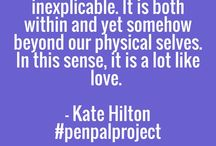 Kate Hilton Writes / Ideas, notes and moments of inspiration relating to a writer's life