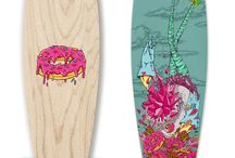 Artist Series / Street Surfing's Artist Series Longboards and Skateboards collection was designed in collaboration with the worldwide renowned Urban artists Gonçalo Mar, Aka Corleone, André Trindade and Add Fuel.