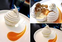 dessserts à l'assiette / plated desserts / by Hungry at Midnight