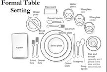 Tableware Settings, Arrangements & Centerpieces / by Jill Stoddard