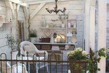 Vintage balconies and verandahs