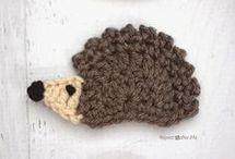 applique hedgehog