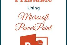 Powerpoints, Presentations and Printables info & resources