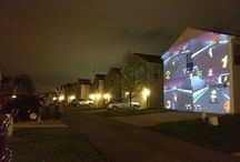 Outdoor Projector Uses