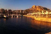 Alicante / Alicante al atardecer