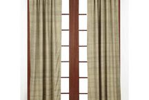 Country Curtains with Star Motifs