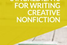 Creative Nonfiction Writers Club / Do you write or want to write creative nonfiction? Join us! This is a creative happy place for us to share ideas, tips and inspiration to support nonfiction writing. To join, just comment on any pin. :-)