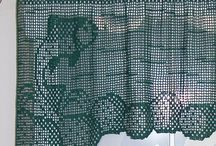 Crochet Curtains