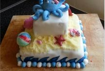 Cake Decorating July Cake Off Competition 'On The Beach' Themed Cakes - Selection Of Entries