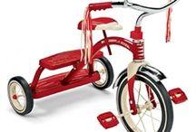 Trehjulingar / Trehjuling för barn - Radio Flyer - RollyToys - PUKY - Etrendstore.se
