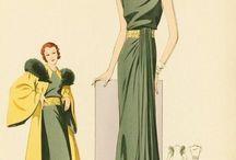 1930er Kleider
