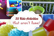Kids' activities and experiments