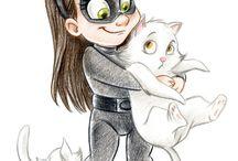 cute catgirl