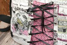 roXXanne. Schnittmuster Handtasche. / Designbeispiele roXXanne - Handtaschen-Schnittmuster von The Crafting Café