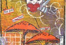 Art Postal ou Mail Art / des échanges de cartes
