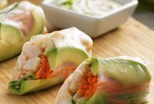 California prawn Spring roll