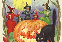 Halloween-Vintage and Fun Images / by Debbie Bailey Ray